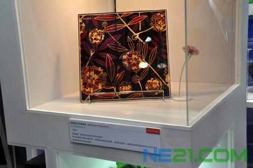 利用染料敏化太阳能电池制作的装饰品发电演示