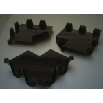 供应保护组件边框四角,防止碰撞和擦伤的塑胶护角