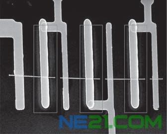 纳米线上形成系列