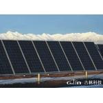 太阳能单柱并列地面支架系统