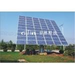 太阳能地柱支架系统