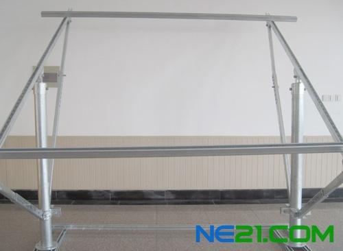 紫旭光电推出大型光伏电站用可调式光伏支架