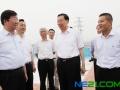 江苏省委书记罗志军考察振发新能源东台光伏电站