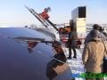 安装太阳能电板的机器人