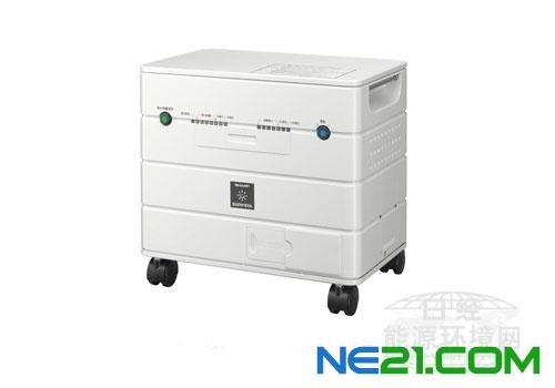 夏普将推出业内首款可利用住宅光伏发电系统充电的移动式蓄电池
