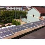 屋顶光伏发电系统设计和安装