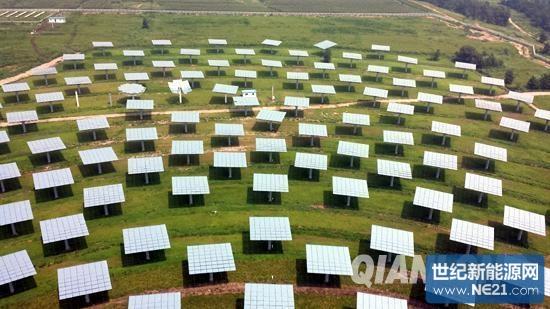 亚洲最大塔式太阳能热发电电站具备并网条件