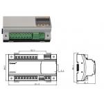 安科瑞AGF-MR导轨式安装光伏汇流采集装置