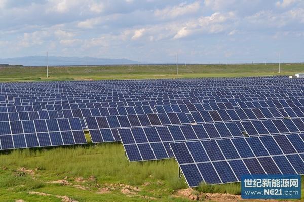保利协鑫建成山西省最大光伏电站60mw一次成功并网