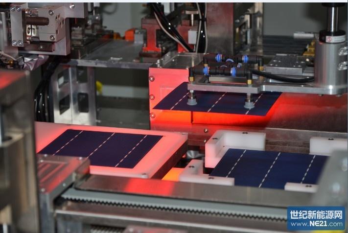 中节能太阳能多晶光伏电池量产效率突破18.32%创新高