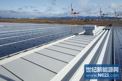 北九州响滩:保护屋顶的百万瓦级光伏电站