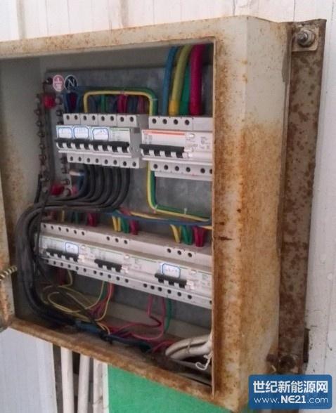 高湿环境 机房内配电柜被腐蚀