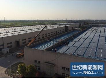 华为为中国最大的分布式光伏项目 提供组串式逆变器解决方案
