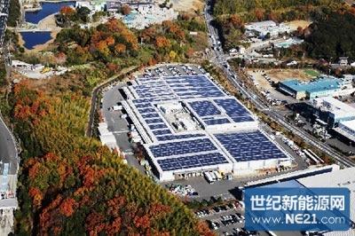 <b>日本非住宅建筑光伏设备设置量增至上年约9倍</b>