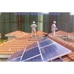 泰联居民家庭屋顶6KW分布式太阳能光伏并网发电系统