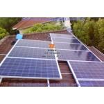 泰联浙江民用家庭屋顶4kw分布式并网光伏发电系统EPC工程