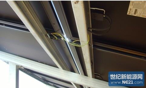 光伏接地系统与建筑结构钢筋的连接应可靠
