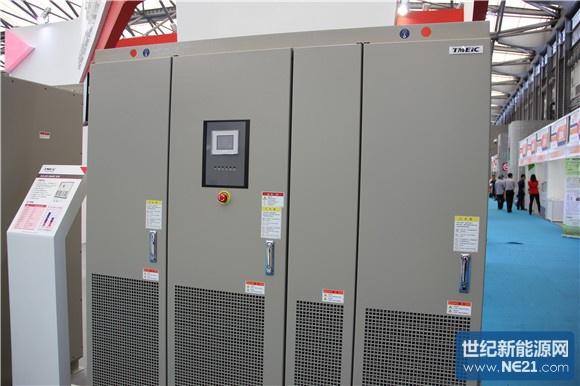 tmeic东芝三菱携逆变器产品亮相中国光伏展会