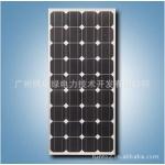 光伏电池板 太阳能电池组件 单晶硅太阳能电池板100W