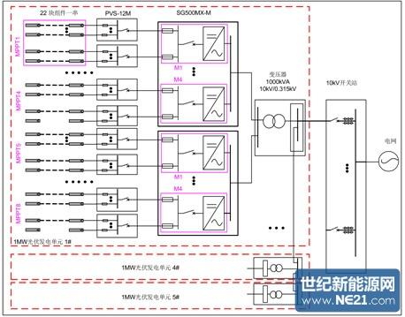 500kw逆变器电路原理图