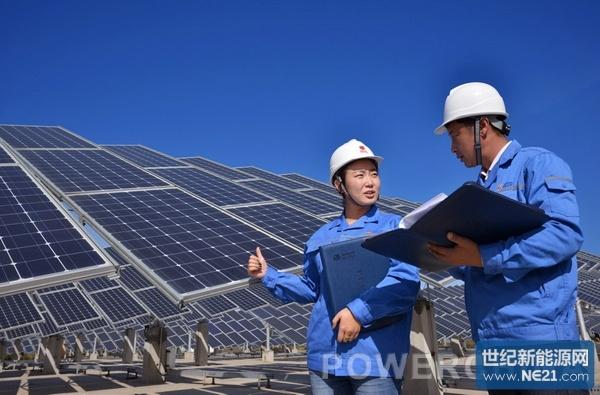 山东中盛阳光能源_山东三建光伏电站建设掠影_世纪新能源网CenturyNewEnergyNetwork