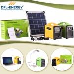 厂家直销手提便携式户外旅行应急太阳能供电系统