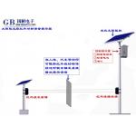 太阳能红外对射式感应语音提示器、景区户外安全语音提醒