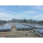 平面屋顶水泥基础支架系统 光伏支架