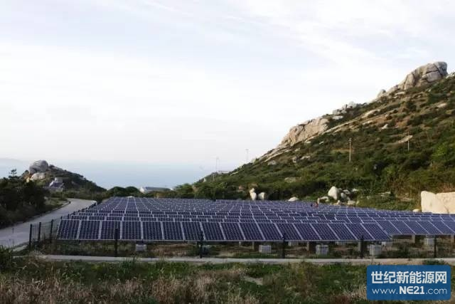 海岛离网型分布式光伏发电系统