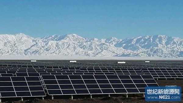 察宁夏永宁农业光伏和新疆哈密光伏电站项目 追日电气光伏逆变器和图片