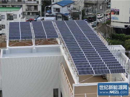 场设置太阳能电池板