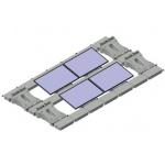 汉能供应 水上浮动光伏电站 漂浮式水面太阳能电站