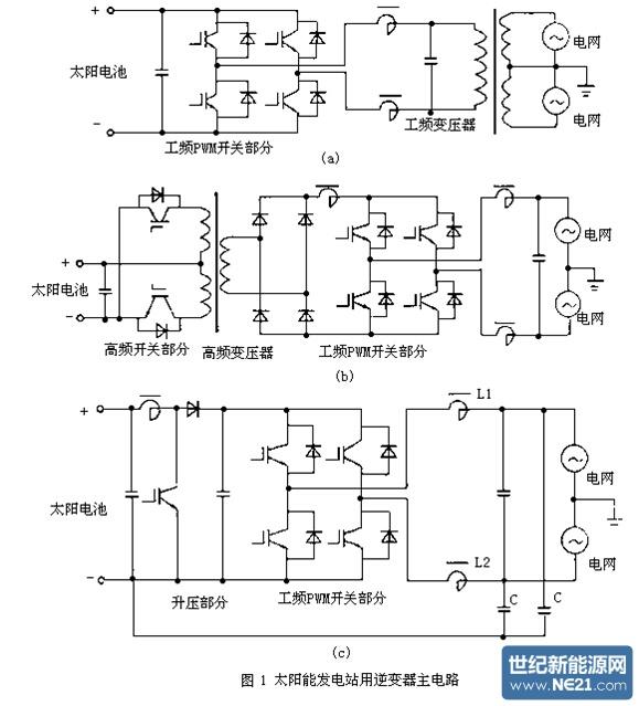 因此逆变器的主电路采用电压型
