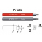 太阳能光伏电缆2*4.0mm2