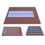 陶瓷瓦屋顶光伏支架系统