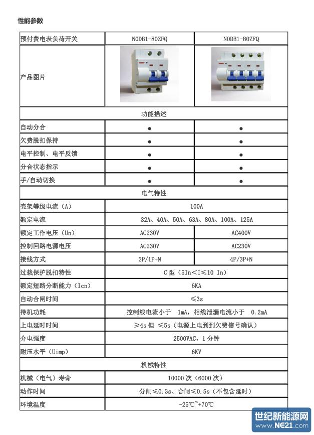 电能表用外置断路器 (2)