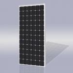 单晶72片太阳能发电组件