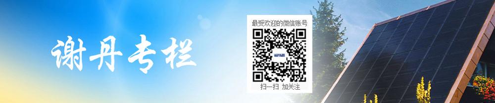 谢丹专栏,中国绿色能源革命记录者