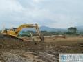 梧州市:加紧建设渔光互补村级光伏扶贫发电站