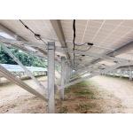 保威新能源 单立柱支架钢铝系统