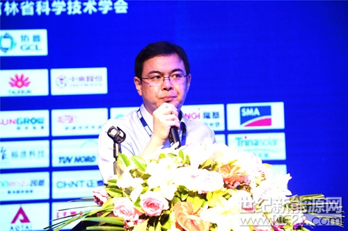 张军军博士,中国电力科学研究院新能源研究所太阳能发电试验与检测室主任