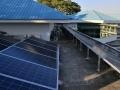 江苏赛拉弗捐赠光伏系统在缅甸能源部屋顶安装完毕并成功运行
