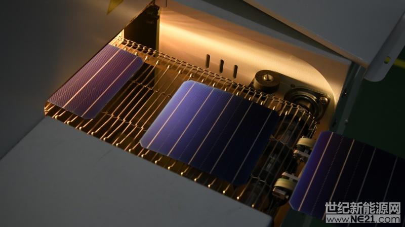 PERC电池产线