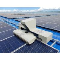 屋面电站专用光伏板清扫机器,光伏无水清洁机器