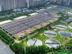全国最大污水处理厂光伏电站在合肥建成