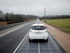 中国建全球首条光伏高速公路