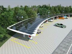 江苏连云港首个光储充一体化综合能源微电网项目启动