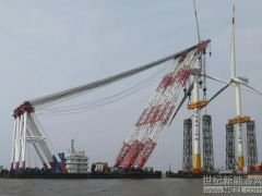 开门红!临港海上一期25台机组全部完成吊装