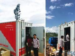 南都电源欧盟援非储能项目正式投运
