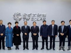 合肥市委书记宋国权调研通威太阳能合肥二期项目
